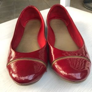 Kelly & Katie red flats.  Women's size 11.
